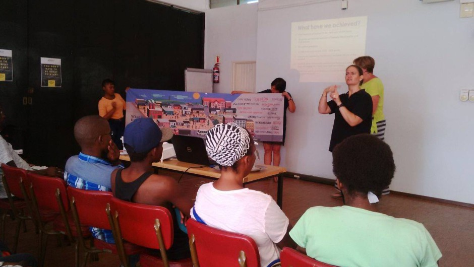 KZN Deaf Association monthly workshop