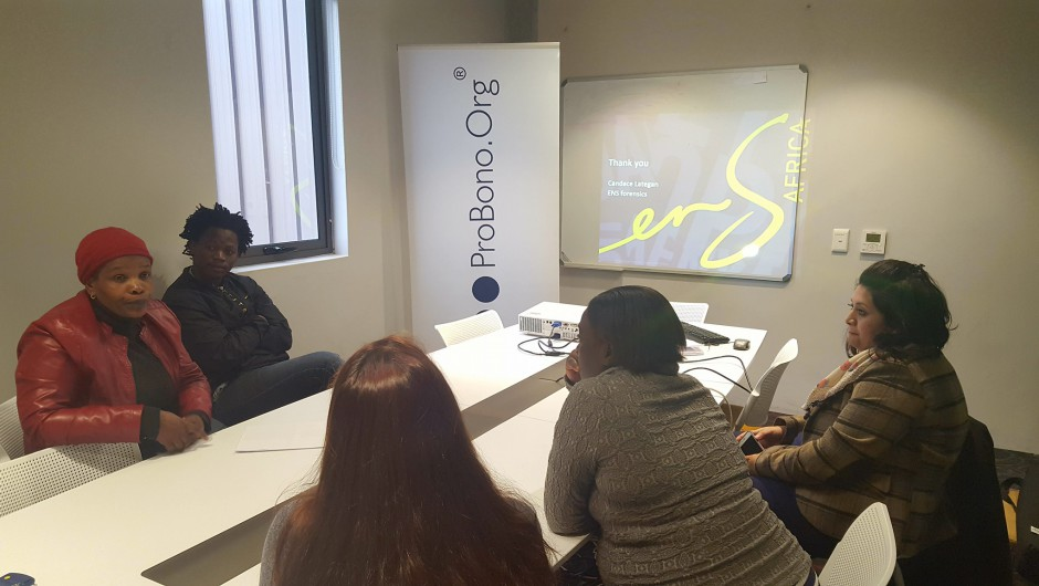 ProBono.Org Cape Town & ENSafrica – Fraud Workshop