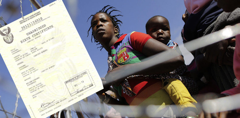 Birth certificates for undocumented minors