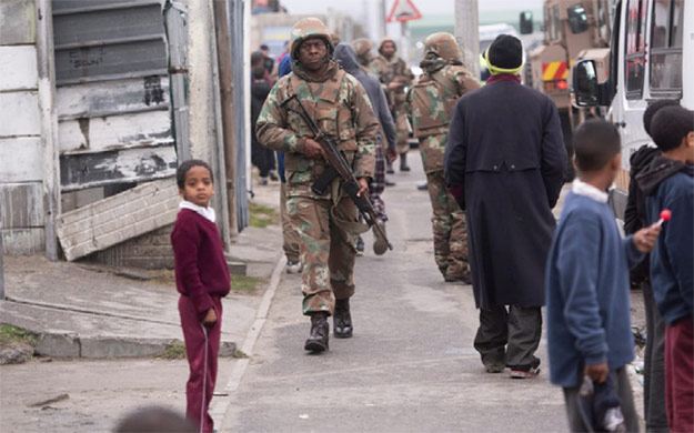 South Africa's National Lockdown and Civil Liberties
